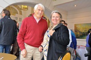 Mirella Tenderini con Walter Bonatti a Chamonix
